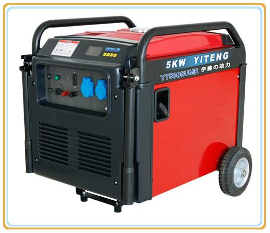 五千瓦汽油发电机yt6000ume