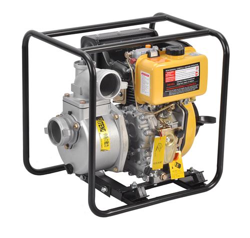 3寸单杠直立四冲程柴油自吸泵