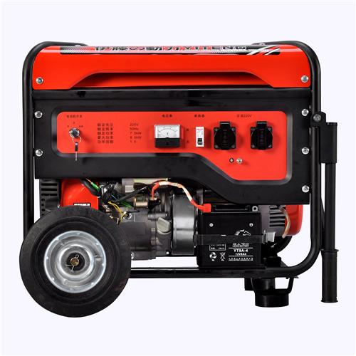 八千瓦汽油发电机//单相风冷汽油发电机//单缸四冲程汽油发电机