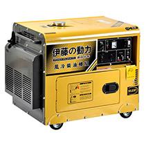 伊藤动力品质之选5kw静音全自动柴油发电机