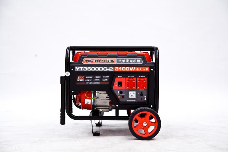 3KW汽油发电机//四冲程汽油发电机//便携式汽油发电机