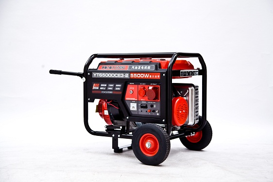 5KW三相电启动汽油发电机-YT6500DCE3-2