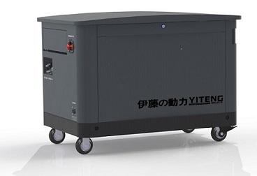 稳重的三十千瓦可定制大型汽油发电机组