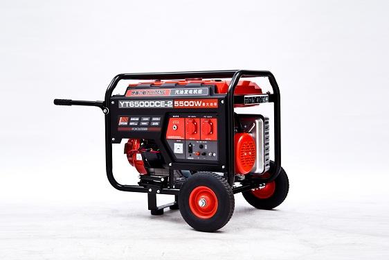 5kw单相电启动汽油发电机-YT6500DCE