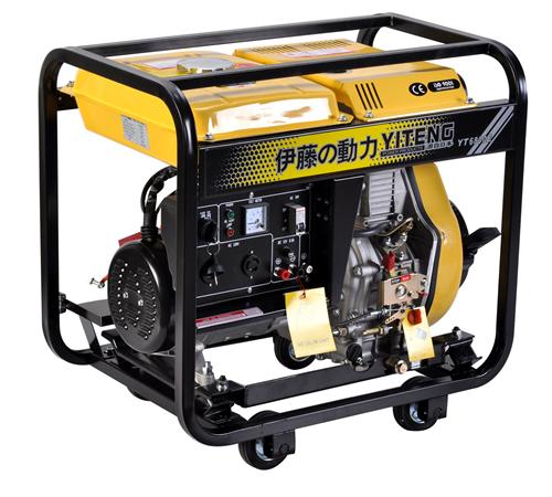 伊藤动力5kw单相电启动柴油发电机