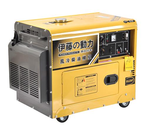 伊藤动力厂家直销5kw静音柴油发电机