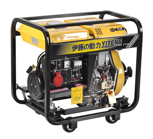 5KW超静音柴油发电机三相发电机