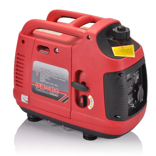数码变频发电机1000W红色