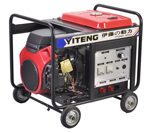 伊藤350A汽油发电电焊机