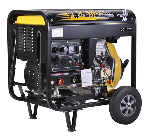 厂家直销边走边焊的柴油单相发电焊机