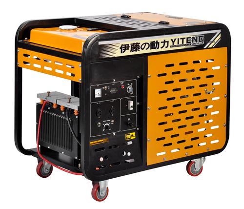 300A柴油发电机电焊一体机(可焊接8.0内焊条)