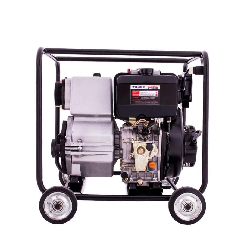 4寸柴油泥浆泵//淤泥自吸泵